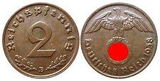 J362    2 Reichspfennig Dritte Reich  1938 B  502742