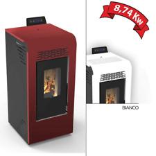 Stufa a pellet ventilata Cervinia 8,74 kw per riscaldamento casa