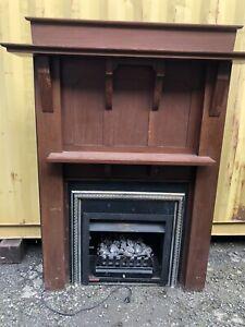 Gas Log Heater
