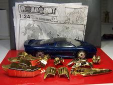 Jaguar XJ220 1:24 Scale RoadBot Happywell Complete w/ Manual Transformers