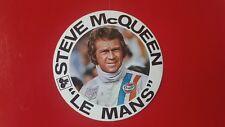 Autocollant Le Mans Steve McQueen (EO 1970) Sticker ORIGINAL VINTAGE GENUINE