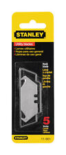 Stanley  Steel  Hook Blade  Utility Knife  Replacement Blade  5 pk