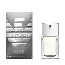 EMPORIO ARMANI DIAMONDS FOR MEN 30ML EAU DE TOILETTE SPRAY BRAND NEW & SEALED