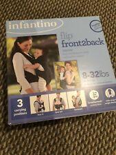 Infantino Flip Front 2 Back Carrier, Black 200-103