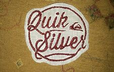 Quiksilver Logo Embroidery Sew on Label Patch Badge Cap T Shirt Jacket Bag diy
