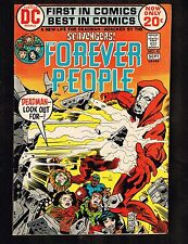 """Forever People #10 ~ """"The Scavengers!"""" 1972 (8.0) Wh"""