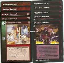 Weather Control x10 3rd Ed BH CE VTES Jyhad