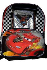 Disney Cars Lightning McQueen Custom Speed/Nitro Speed Backpack NWT