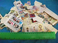 Lot of  off-paper  world stamps mixture.(Old Early 1970s Mix).Mostly Pictorials.