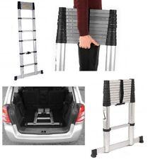 3.2 Meter Multi-Purpose Aluminum Folding Telescopic Ladder Heavy Duty Beldray