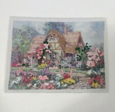 Vintage 1991 Dimensions Gallery Crewel 6174 Country Retreat 7x 5'' Completed