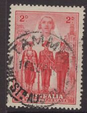 Western Australia TAMMIN postmark on WW11 2d red Forces stamp