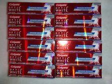 Lot of 12  Colgate Optic White Icy Fresh 3.5 oz Toothpaste