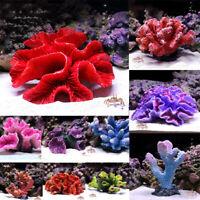 Simulation Harz Korallenriff Aquarium Ornament DIY Fish Tank Landschaftsbau Deko