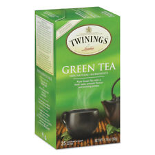 TWININGS Tea Bags Green 1.76 oz 25/Box 09187