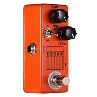 Mosky D250X Mini Overdrive Preamp Guitar Effect Pedal with True Bypass Swi G2Z2