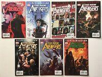 New Avengers #s 38 39 42 43 44 45 46 Lot of 7 Marvel Comics 2008 Secret Invasion