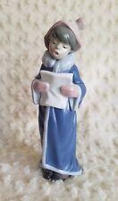 "LLADRO "" The Christmas Caroler "" Figurine #6533 WITH ORIGINAL BOX & SLEEVE"