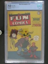 More Fun Comics #113 - CBCS 7.0 FN/VF - DC 1946 - 3rd HIGHEST GRADE!!!