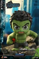 Hot Toys COSBABY Hulk Bobble-head COSB786 Avengers: Endgame PVC Figure Model Toy