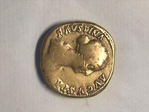 sesterce favstina bronze poids 25,18gr diamètre 3cm