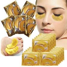 10pcs/5pairs GOLD Collagen Crystal Eye Mask Anti Aging Wrinkle Dark Circle