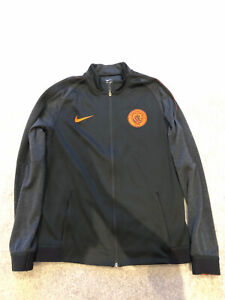 Manchester City Black Vapor Training Jacket Large Nike