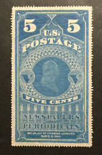 TDStamps: US Newspapers Stamps Scott#PR4 Unused LH NG CV$700.00