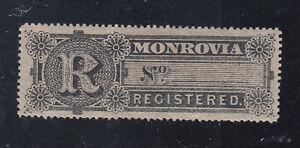 Liberia # F4 Mint 1893 Registration Issue Watterlow