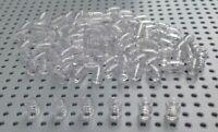 Lego 1x1 Clear Transparent Round Brick Barrel (3062) x25 BRAND NEW Star War City