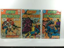 Superboy And The Legion Of Super-Heroes - 222,229 & 235