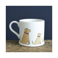Sweet William YELLOW LABRADOR Dog Mug | Great Gift for Lab Lovers | FREE P&P