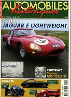 AUTOMOBILE HISTORIQUE n°1 03/99 JAGUAR TYPE E LEGHTWEIGTH FERRARI F50 BUGATTI 55