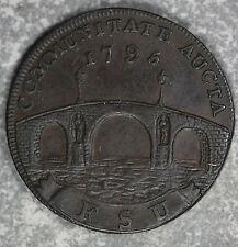 Rare 1795 Half Penny Suffolk B'Eccles Fsu Conder Token