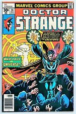 DOCTOR STRANGE #24 (MARVEL COMICS 1977) VF (JIM STARLIN ART!)  8.0
