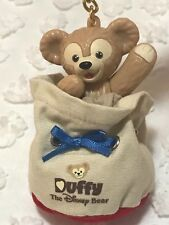 Tokyo Disney Sea Limited Duffy Popcorn Bucket/Bag Keychain/Charm Japan Authentic