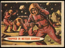 1957 Space Cards #39 Trapped in Meteor Shower EX/NM