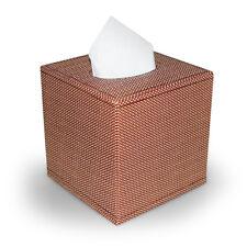 Kosmetiktuchbox Taschentuchbox PU-Leder Korb-Struktur Tissuebox Kleenexbox