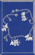 Vintage Swap/Playing Card - 1 SINGLE- SCOTTY DOG CHARM BRACELET