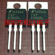 5 PCS FQPF13N06L 13N06L  60V LOGIC N-Channel MOSFET TO-220F New