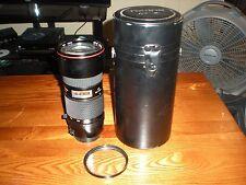 TOKINA AT-X  80-200mm f/2.8 Lens for Canon EF WITH CASE & UV FILTER AF LOW BID