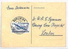 BH192 1957 GERMANY GDR Berlin GB London Postcard