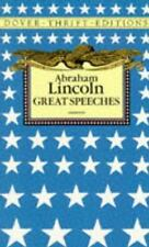 Abraham Lincoln: Great Speeches (Dover Thrift Editions) by Abraham Lincoln