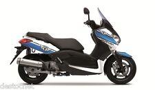 Kit déco Cooper Kutvek blanc/bleu Yamaha X-Max 125/250 de 2007 à 2013
