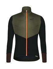 Santini Men's Vega Polartec Cycling Jacket in Green - Size L