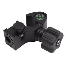 SitePro Quick-Release Pole Clamp with Compass
