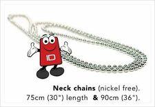 Nickel Free Steel Neck Chain Necklace For ID Card Badge Holders 90cm(36In)