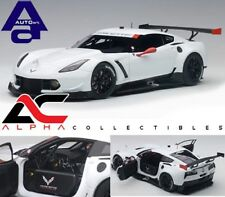 AUTOART 81650 1:18  CHEVROLET CORVETTE C7.R PLAIN COLOR VERSION (WHITE)