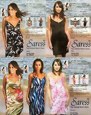 Saress The Ultimate Beach Dress Various uk 8 10 14 16 Beach cover up swim sarong