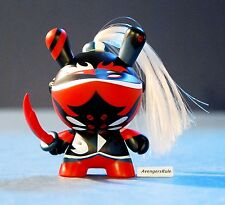 Dunny 2014 Art of War KidRobot Patricio Oliver Red 2/20 Rarity